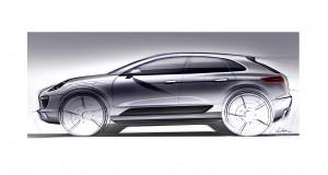 Le Porsche Macan sera dévoilé au Salon de l'Auto de Los Angeles