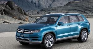Concept Volkswagen CrossBlue – Un VUS à sept passagers combinant le diesel et l'électricité