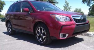 Essai Routier Subaru Forester 2.0XT 2014 – Un VUS compact performant à souhait