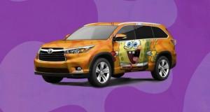 Un Toyota Highlander signé Spongebob Square Pants