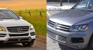 Mercedes-Benz ML350 Bluetec 2013 contre Volkswagen Touareg TDI 2013