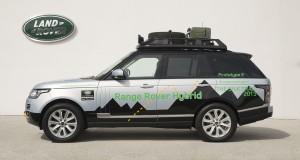 Le Range Rover Hybride confirmé