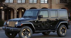 Le Jeep Wrangler Dragon Édition 2014 sera offert en Amérique du Nord