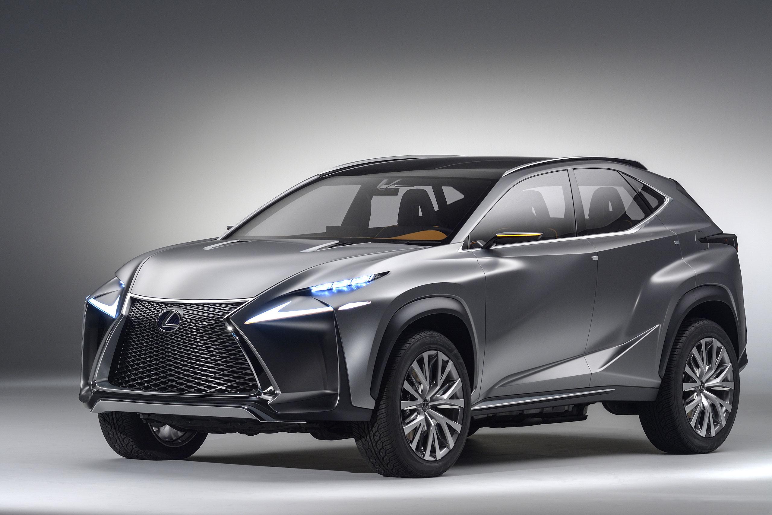 Lexus LF-NX Concept : comment Lexus voit le VUS urbain
