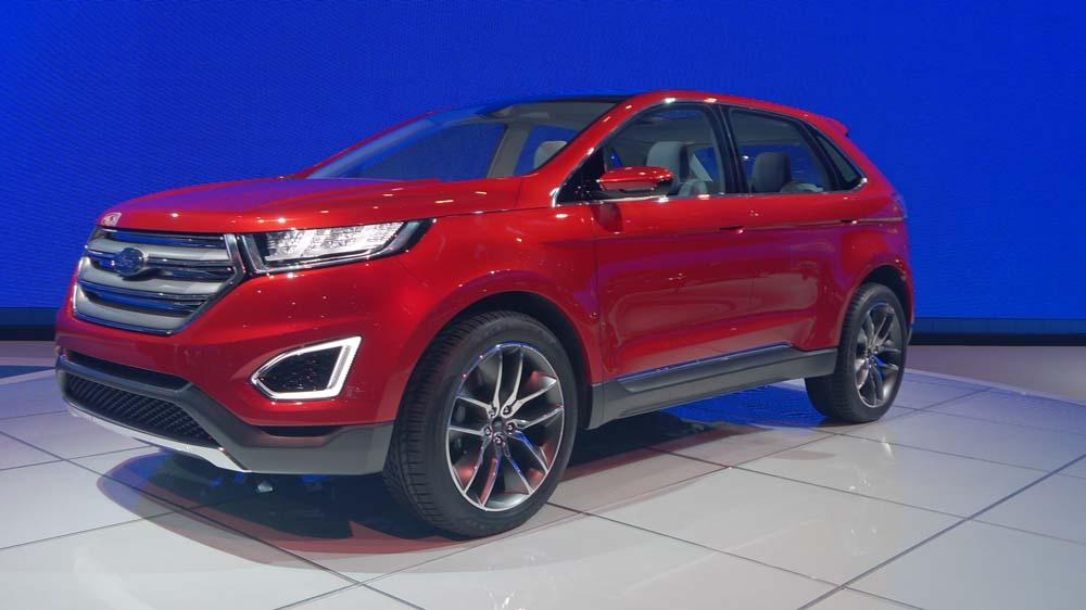 Ford Edge Concept – Technologie de pointe