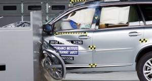 Le Volvo XC90 2014 désigné Meilleur Choix Sécurité + selon l'IIHS
