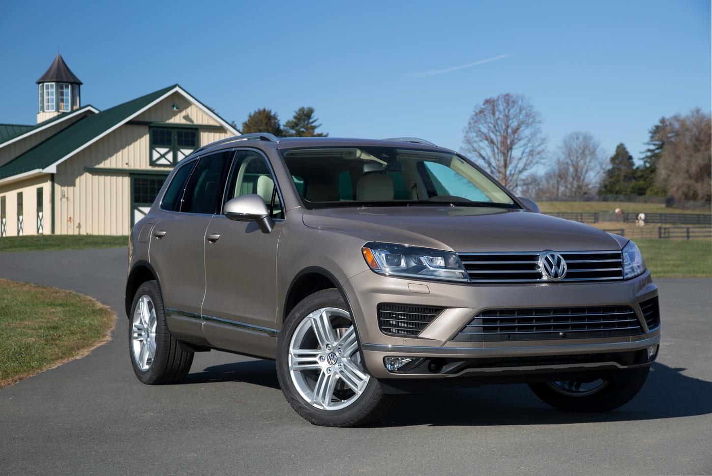 VW Touareg 2016