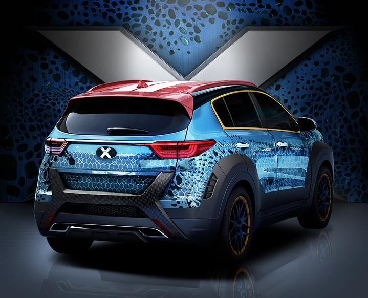 kia sportage x men 3