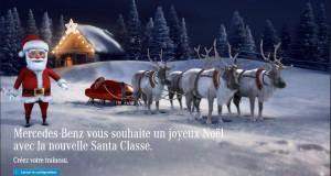 Mercedes-Benz vous offre votre propre Santa Classe