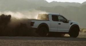 Ford Raptor 2017, déchainé dans le désert