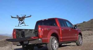 Ford veut un drone pour ses voitures autonomes