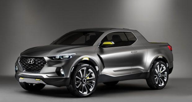 Hyundai aura sa camionnette Santa Cruz en 2018