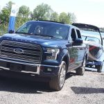 Ford F-150 Ecoboost 2016: quand reculer une remorque devient facile