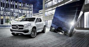 Mercedes-Benz aura sa camionnette