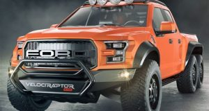 Hennessey propose un Ford Raptor à 6 roues!