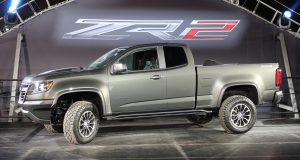 Chevrolet dévoile le Colorado ZR2 2017 au Salon de Los Angeles