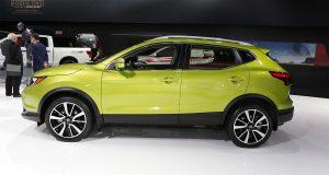 Le Nissan Qashqai 2017 présenté au Salon de l'auto de Montréal