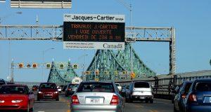 La ville la plus congestionnée au Canada est Montréal