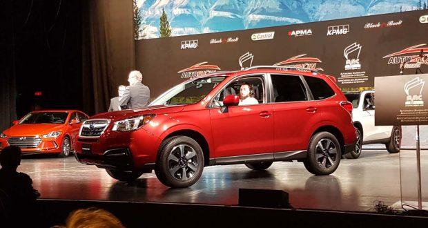Le Subaru Forester nommé Véhicule utilitaire canadien de l'année