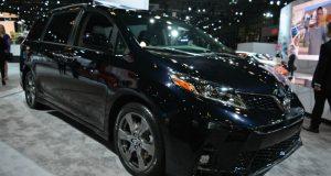 New York 2017: une Toyota Sienna 2018 révisée