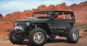 Jeep Quicksand Concept : un Hemi dans un Wrangler