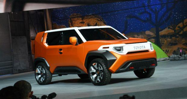 Toyota FT4X concept, à l'aventure au salon de New York