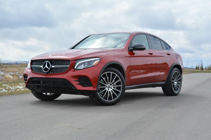 2017 Mercedes GLC Coupe