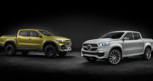 NOUVELLE AUTO : voici le nouveau pickup Mercedes-Benz Classe X 2018