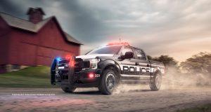 ACTUALITÉ AUTO : Un Ford F-150 préparé pour la police