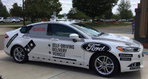 ACTUALITÉ AUTO : Domino's veut livrer des pizzas avec des voitures autonomes Ford
