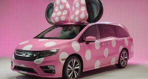 ACTUALITÉ AUTO: Minnie Mouse se promène en Honda Odyssey