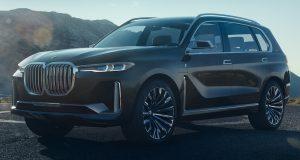 NOUVELLE AUTO : le BMW X7 Concept est gros et hybride