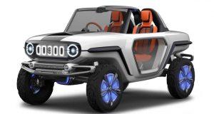 NOUVELLE AUTO: Un Suzuki Samurai futuriste et électrique