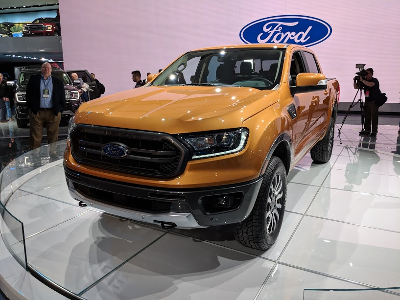 ford ranger 2019 le petit nouveau d voil d troit vusmag. Black Bedroom Furniture Sets. Home Design Ideas