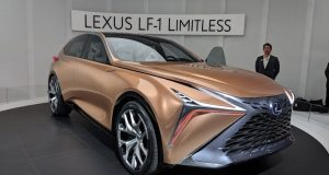 Le Lexus LF-1 Limitless voit le jour à Détroit