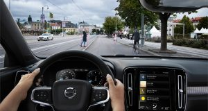 Techno : le système City Safety du Volvo XC40 2019