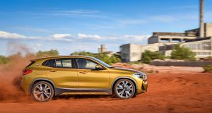 Le BMW X2 2018 est au Salon International de l'auto de Montréal