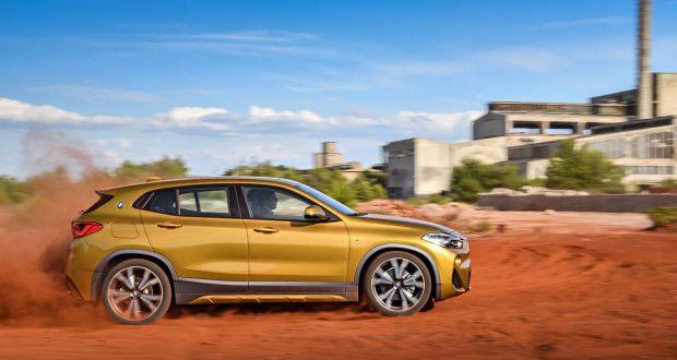 Le BMW X2 2018 est au Salon International de l'auto de Montréal