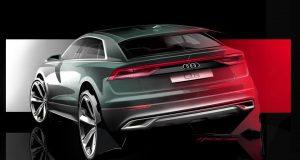 Une autre esquisse de l'Audi Q8 fait surface