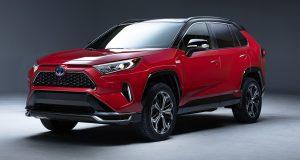Le Toyota RAV4 Hybride rechargeable 2021 sera à Los Angeles